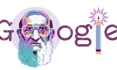 Google faz homenagem ao 100.º aniversário de Paulo Freire. Foto: Reprodução