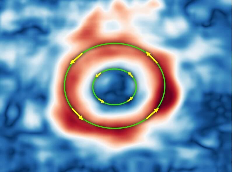 Hubble mostra que ventos na Grande Mancha Vermelha de Júpiter estão ganhando velocidade
