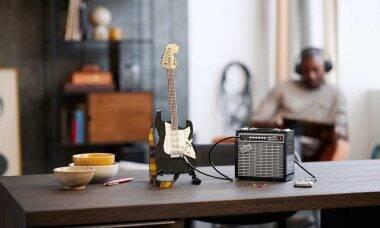 Guitarra Fender Stratocaster ganha kit de Lego