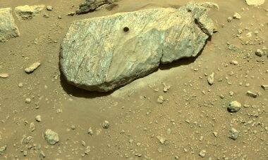 Robô Perseverance realiza 2ª tentativa de coleta de rocha em Marte