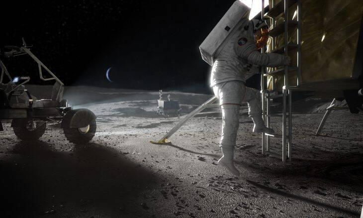 Nasa seleciona 5 empresas para projetos de módulos lunares