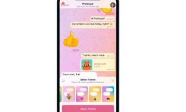 Telegram: atualização traz temas de chat e gravação de transmissões ao vivo