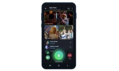 Telegram ganha transmissão ao vivo ilimitadas
