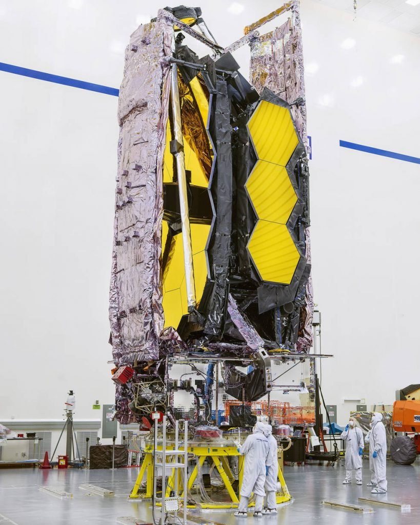 Nasa vai lançar telescópio espacial James Webb em dezembro