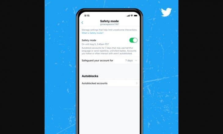 """Twitter inicia teste com """"modo seguro"""" que automatiza bloqueio de perfis"""