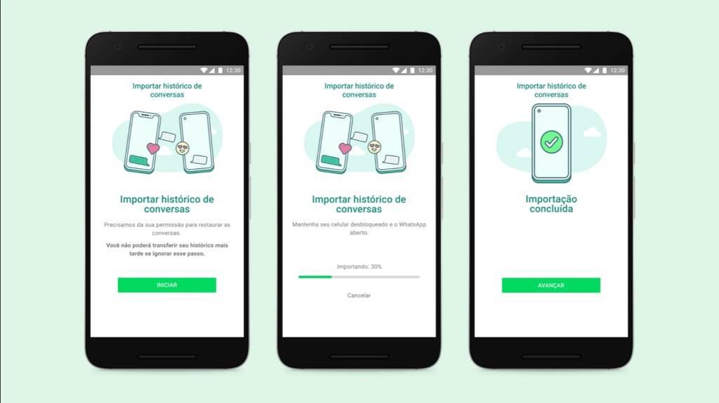 WhatsApp libera transferência de conversas do iOS para Android