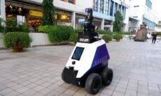 Singapura inicia testes com guarda robótico