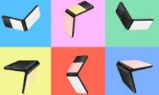 Samsung mostra Galaxy Z Flip 3 Bespoke Edition