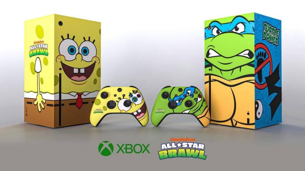 XBox Series X ganha versões de Bob Esponja e As Tartarugas Ninja