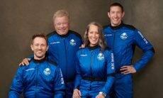 William Shatner se torna pessoa mais velha a viajar ao espaço