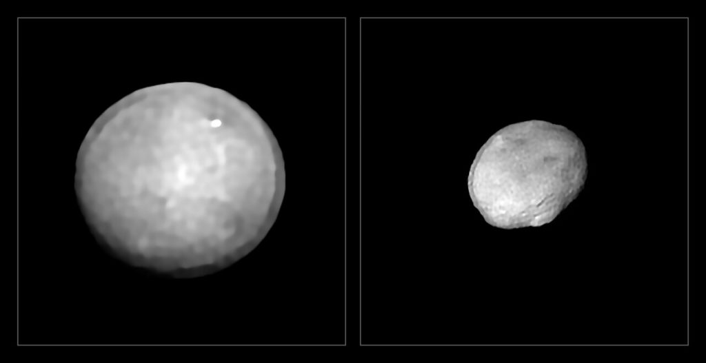 ESO capta imagens dos maiores asteroides do Sistema Solar