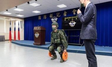 Cientistas de Taiwan criam exoesqueleto para uso militar