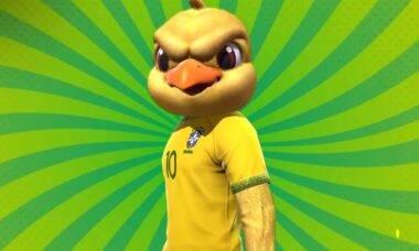 Free Fire ganha skins do Canarinho, da Seleção Brasileira