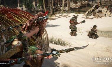 Horizon Forbidden West tem novos detalhes revelados