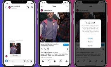 Instagram vai permitir posts colaborativos e também pelo PC