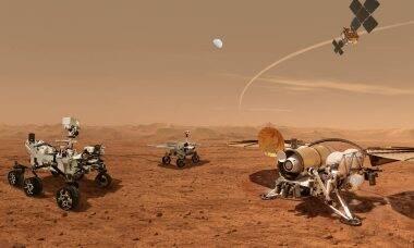Nasa e ESA iniciam planejamento de missão para recuperar amostras de rochas de Marte