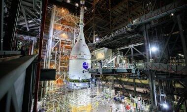 Artemis I: missão não tripulada da Nasa para a Lua decola em fevereiro de 2022