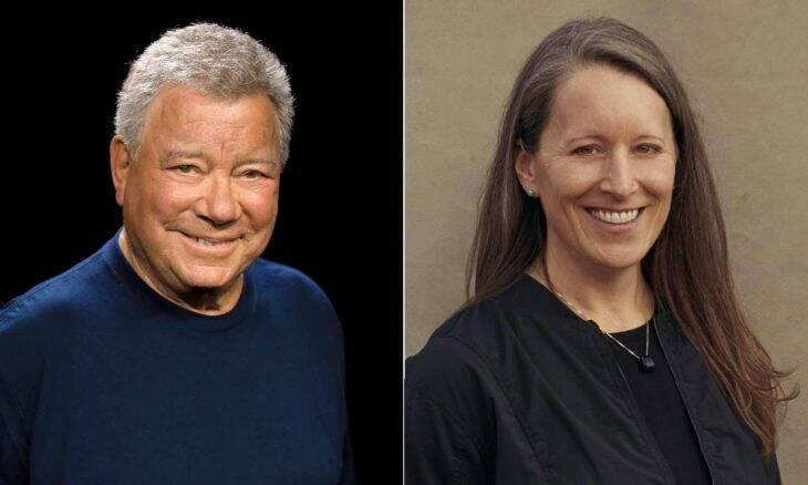 Blue Origin confirma William Shatner, o capitão Kirk, em novo voo suborbital