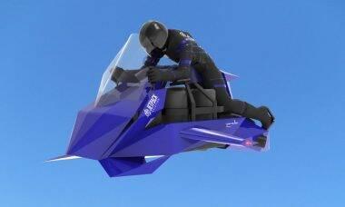 Empresa lança moto voadora que chega ao mercado em 2023