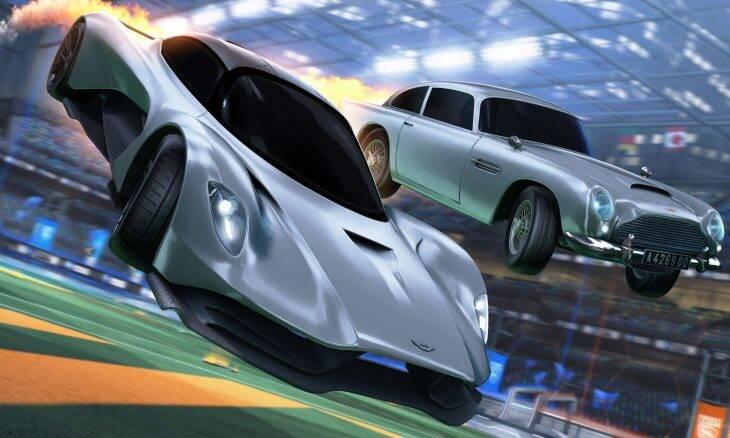 Aston Martin Valhalla do 007 chega ao Rocket League